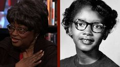 """At a ceremony unveiling a statue in her honor last month, President Obama called Rosa Parks' refusal to give up her seat on a Montgomery, Alabama, city bus a """"singular act of disobedience."""" But nine months before Parks' historic action, a 15-year-old teenager named Claudette Colvin did the very same thing. She was arrested, and her case led to the U.S. Supreme Court's order for the desegregation of Alabama's bus system. Now 73, Claudette Colvin joins us for a rare interview along with…"""