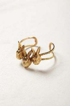 OCT 2013-Lapin Cuff #anthropologie