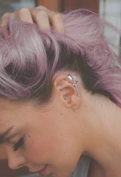 Grunge pink hair!!