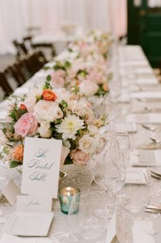 classic bridal head table +  lace runner by @Ritzy Bee. Photography by: @Kat Ellis Headley #wedding #summerwedding