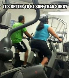 Safety First, lol
