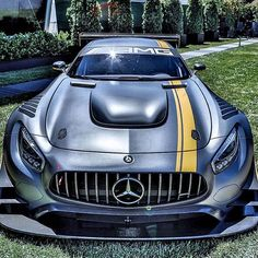 "Mercedes-AMG GT3 ""The Track Monster"". Motorsport and Mercedes-AMG are inseparable entities: competition on the racetrack is deeply ingrained in the DNA of AMG, and constantly drives the team in Affalterbach on to achieve top-class performance. The spectacular design and cutting-edge technology of the Mercedes-AMG GT3 will make their mark in customer sport, and the high racetrack performance of the standard GT already provides the best possible basis for this. Mercedes-AMG GT3 powered by…"