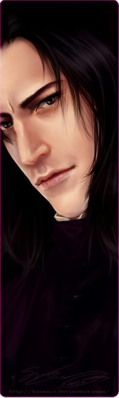 Severus Snape 2013 by KaseiArt on deviantART