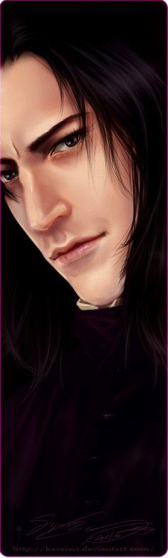 Severus Snape 2013 by KaseiArt on deviantART