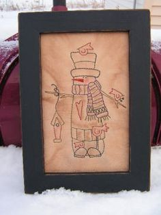 Primitive Stitchery