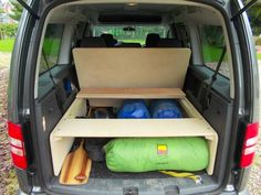 More song of the paddle Auto Camping, Truck Camping, Camping Style, Ford Transit Custom Camper, Custom Campers, Vw Bus, Vw Caddy Maxi Life, Caddy Van, Kangoo Camper
