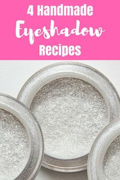 4 Homemade Eyeshadow Recipes - Everything Pretty Homemade Moisturizer, Face Scrub Homemade, Moisturizer For Dry Skin, Homemade Skin Care, Semi Homemade, Homemade Beauty, Organic Skin Care, Natural Skin Care, Natural Beauty