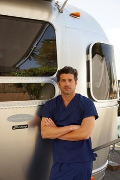 Patrick Dempsey and His Airstream
