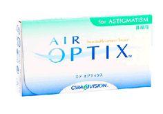 """Air Optix para Astigmatismo (Caja con 6 Lentes de Contacto) - Lentematic.com  Los lentes de contacto Air Optix para astigmatismo te permiten ver clara y cómodamente, sin problemas de resequedad. La tecnología """"TriComfort Technology"""" permite a los lentes Air Optix para astigmatismo un flujo continuo de oxígeno manteniendo tus ojos con una sensación saludable y natural."""