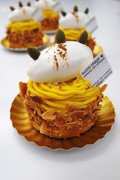 Pumpkin Mont Blanc かぼちゃのモンブラン | Pâtisserie Sucre Plage