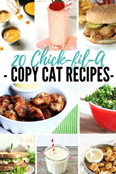 20 Chick-fil-A Copy Cat Recipes YOU can make at home!