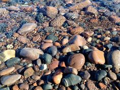 Searching for Agates by Karin Hamnes on Capture Minnesota // On the shore of Lake Superior, where the Beaver River meets the lake, is a bay filled with wonderfully colorful rocks and offers some of the best agate hunting in Minnesota.