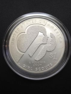 The New 2013 Commemorative Girl Scout Silver Dollar