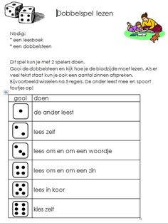 Spelletjes/ oefenen :: Juf Christa Speech Language Therapy, Speech And Language, School 2017, Art School, Teaching Reading, Fun Learning, I Love School, English Reading, Teacher Inspiration
