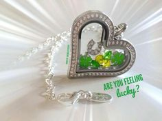 St Patty Day Special!! FREE charm with order or 10% off order now until March 17. Order from me to get special www.Hootif YourCute.OrigamiOwl.com or text/call 951-850-1714.