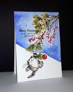 40-560 Berry speckled et 30-445 To all... de Penny Black par Micheline 'Mimi' Jourdain
