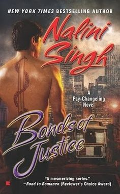 The 8th installment of Nalini Singh's Psy-Changeling series.  This one is about human cop Max and Justice Psy Sophia.