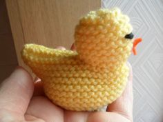 knitted chick
