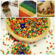 HOW TO DYE CORN FOR RICHLY COLORED POPCORN KERNELS