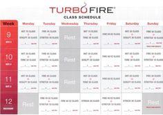 turbo fire weeks 5, 6, 7, 8   Turbo Fire - My addiction!   Pinterest ...