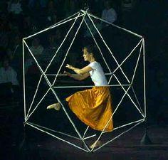 El icosaedro de Laban de Rudolf Laban