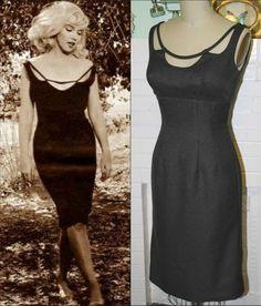 Vista-se como uma pin-up - Estilo Marilyn Monroe Marilyn Monroe Outfits, Fotos Marilyn Monroe, Estilo Marilyn Monroe, Marylin Monroe, Vestidos Vintage, Vintage Dresses, Vintage Outfits, Vintage Fashion, Style Rockabilly