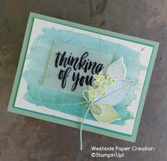 Thinking of you card using Rooted In Nature