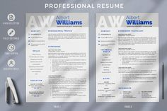 3 Page Resume Template for Word & Pages. Project Manager CV, Modern Resume Format, Profesional CV Template for Any Job - HIRED DESIGN STUDIO - Relay.shop Simple Cover Letter, Cover Letter Format, Cover Letter Template, Creative Cv Template, Simple Resume Template, Modern Resume Format, Cv Format, Project Manager Resume, Professional Resume