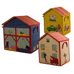 Toy Box Storage 'Boys'  house's collection - Rice DK