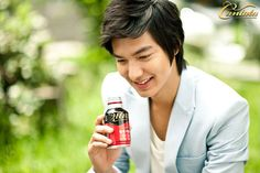 Lee Min Ho for Cantata Coffee.