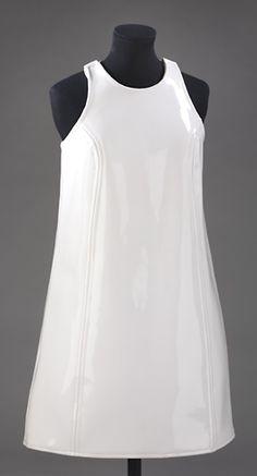 Dress  John Bates (1938-)1967  PVC (polyvinyl chloride)