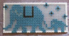 Elephant Hama Beads Pattern