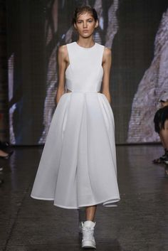 DKNY RTW Spring 2015 [Photo by Giovanni Giannoni]