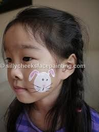 Bunny Face Paint. How to do bunny face painting in pictures  MadeForMums Children Activities Pinterest Bunny paint and Face