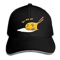 958bfedd769 MASTER Gudetama Five More Minutes Lazy Eggs Snapback Hats   Baseball Hats    Peaked Cap
