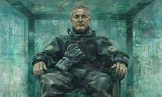 Damien Hirst's portrait by Jonathan Yeo