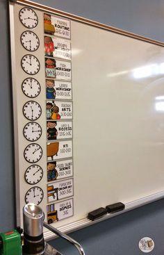 Daily routine schedule