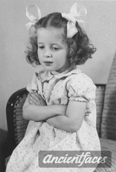 *photo taken in Netherlands 1940, Eva age 4* Eva Munzer was deported to Auschwitz and gassed to death in 1944 at age 8.