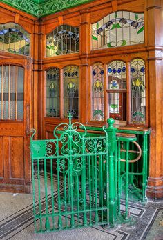 2012.06.26 - Mens 1st Class Entrance - Victoria Baths - Manchester by D.R.Williams, via Flickr