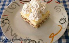 Gesztenyés-vaníliás kocka recept fotóval