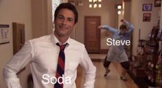Even better because it's Rob Lowe.
