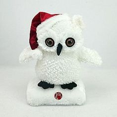 Animated Christmas Owl: Amazon.ca: Home & Kitchen