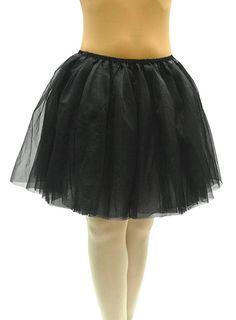 "Dancina Adult Tutus 4, 5 Layered Tulle Tutu Skirt; Long 18"" and Short 10"" Length at Amazon Women's Clothing store:"