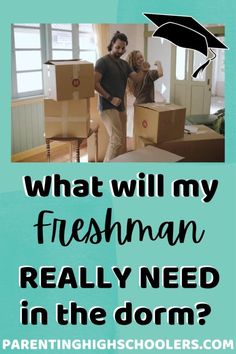 What is needed? What is helpful? What won't take up much room? I have taken two kids to college, and here is my advice! #dormroom #dormroomessentials #freshmanyearincollege Senior Year Of High School, In High School, College Roommate, College Students, Senior Ads, Guy Dorm Rooms, Dorm Organization, Dorm Life, Freshman