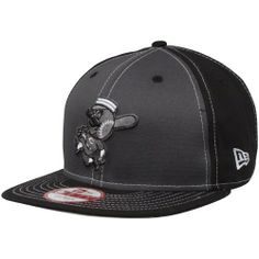 """New Era Cincinnati Reds Snappin Pop Adjustable Snapback Hat â?"""" Black/Charcoal by New Era. $27.95. Contrast color panels. Structured fit. Quality embroidery. Adjustable plastic snap strap. Flat bill. New Era Cincinnati Reds Snappin Pop Adjustable Snapback Hat - Black/CharcoalQuality embroidery100% CottonOfficially licensed MLB productFlat billAdjustable plastic snap strapImportedStructured fitSix panels with eyeletsContrast color panels100% CottonStructured fitAdjustable plas..."""