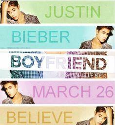 Boyfriend... March 26th.... Can't wait!