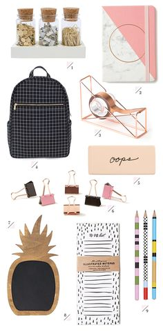 "» DIY BUYS | Cool ""Back-to-School"" Supplies"