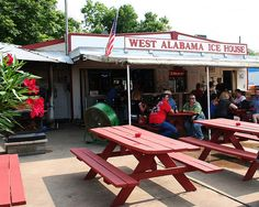 West Alabama Ice House in Houston, Texas - fun place to hang out. everyone from preppies, to lawyers, to bikers all hanging out. It is Bring your own liquor too ! Houston Living, Houston Bars, Beautiful Homes, Beautiful Places, Miss Texas, Texas Monthly, Houston Street, Houston Restaurants, Ice Houses