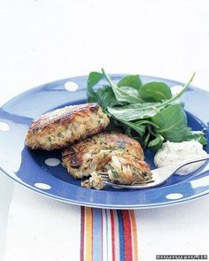 Lemon-Parsley Fish Cakes Recipe