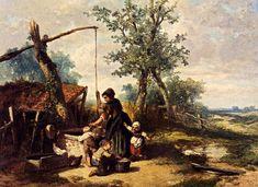Johan Mari Ten Kate, At The Well